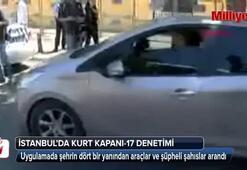İstanbulda Kurt Kapanı-17 uygulaması gerçekleştirildi