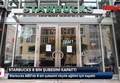 Starbucks ABDde 8 bin şubesini ırkçılık eğitimi için kapattı
