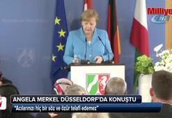 Merkel, Solingen Faciası dolayısıyla düzenlenen anma törenine katıldı