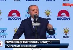 Cumhurbaşkanı Erdoğan: CHP zihniyeti kirlilik demektir