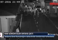 Jandarma Genel Komutanlığının darbecilerden temizlenmesi kameralarda