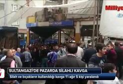 Sultangazide pazarda silahlı kavga: 5 yaralı