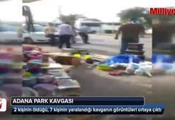Park kavgasının görüntüleri ortaya çıktı