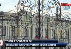 Devlet töreniyle Türkiye'ye gönderildiler