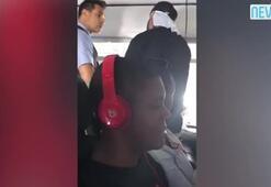 Sarhoş yolcu kabin ekbiniden alkol isteyince kavga çıktı