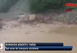 Bursayı sel vurdu
