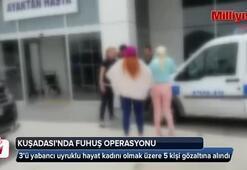 Kuşadası'nda otele fuhuş operasyonuna 5 gözaltı