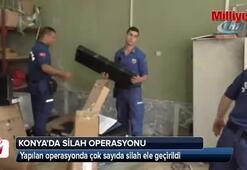 Konyada dev silah operasyonu