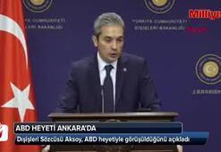 ABD heyeti Ankarada