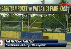 Ankarada fabrikadaki patlama