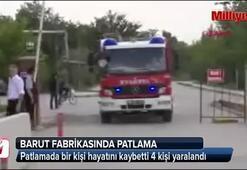 Ankarada barut fabrikasında patlama