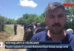 Kene ısırması sonucu hayatını kaybeden Mustafa, toprağa veridli