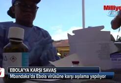 Demokratik Kongoda Ebola virüsüne karşı aşılama