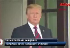 Trump kafaları karıştırdı: Çok yakında açıklayacağım