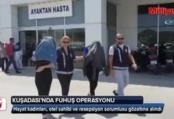 Kuşadasında fuhuş operasyonu: 4 gözaltı