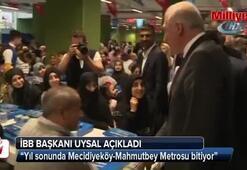 Yıl sonunda Mecidiyeköy-Mahmutbey Metrosu bitiyor