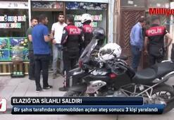 Elazığ'da silahlı saldırı:3 yaralı