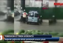 Ankaradan tebessüm ettiren görüntü