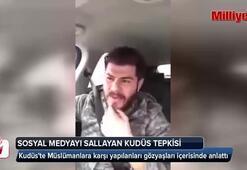 Türk vatandaşın Kudüs tepkisi sosyal medyayı salladı