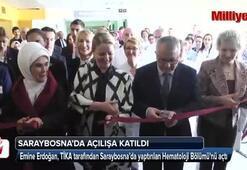 Emine Erdoğan Saraybosnada açılışa katıldı
