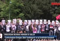Cumhurbaşkanı Erdoğan, Bosna Herseke geldi