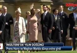 Prens Harry ve Meghan Markle dünya evine girdi