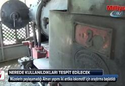 Alman yapımı antika lokomotifler için araştırma başlatıldı