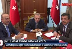 İki ülke arasında imzalar telekonferans yöntemiyle atıldı
