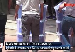 İzmir merkezli 15 ilde FETÖ operasyonu