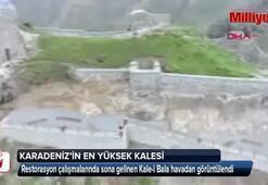 Kale-i Bala havadan görüntülendi