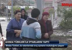 Ahıska Türkleri öz vatanlarında ilk iftarlarını yaptı