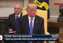 Kim ile görüşme iptal edilecek mi Trumptan flaş açıklama