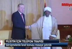 Erdoğan'ın Filistin için telefon trafiği