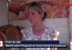 Dev Osmanlı Ekmeği görenleri şaşırtıyor