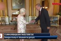 Cumhurbaşkanı Erdoğan, İngiltere Kraliçesi 2. Elizabethle görüştü