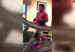 Maradona forma girmek için spor yapıyor