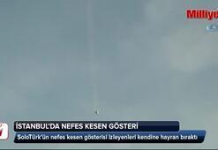 SoloTürkten İstanbulda nefes kesen gösteri