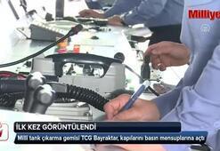 TCG Bayraktar, kapılarını basın mensuplarına açtı