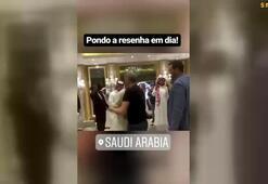 Ronaldinhodan Arabistan ziyareti