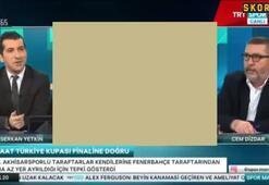 TRT Spor canlı yayında gerginlik