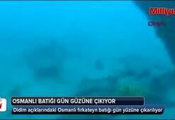 Osmanlı fırkateyni batığı gün yüzüne çıkartılıyor
