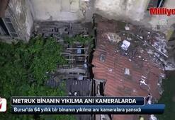 64 yıllık bina böyle yıkıldı
