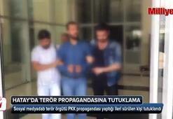 Hatayda terör propagandası yapan bir kişi tutuklandı