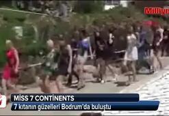 7 kıtanın güzelleri Bodrumda buluştu