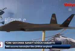 Milli savunma teknolojileri Efes-2018de sergilendi