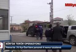 Ağrıda terör operasyonu
