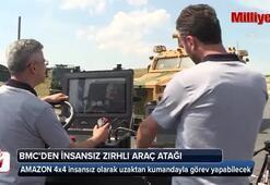 BMCden insansız zırhlı araç atağı