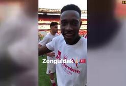 Mesut Özil paylaştı Welbeckten Türkiye mesajı...