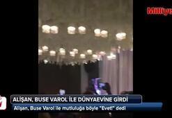 Alişan, Buse Varol ile mutluluğa böyle Evet dedi