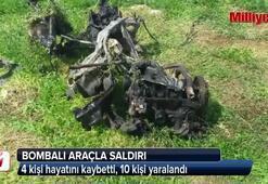 Suriyede bombalı araç saldırısı: 4 ölü